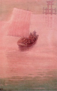 sailboat by ito yoshihiko