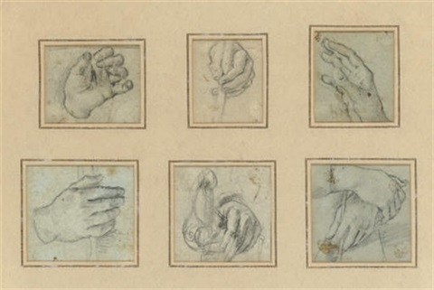 hands 5 others 6 studies by alessandro tiarini