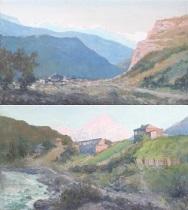 svanetien (+ kaukasus; 2 works) by tatyana sergeevna anisimova