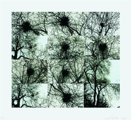 untitled (nest/trees) by kiki smith