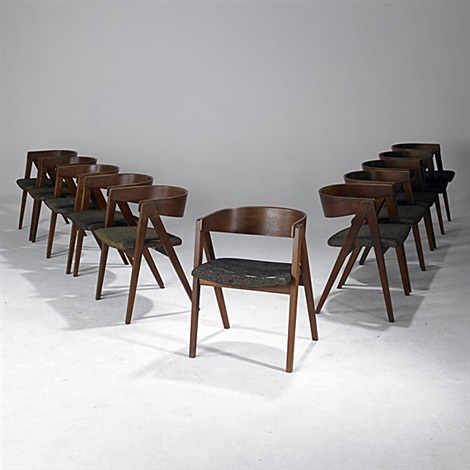 Set Of 11 Compass Chairs By Allan Gould On Artnet