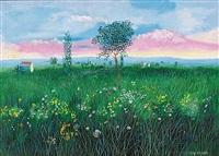paesaggio estivo by edoardo antinori
