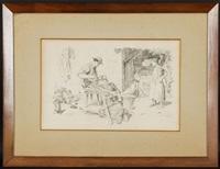 le dinandier et ses enfants by albert anker