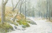 vinter i skogen by vassilij filippovich levi