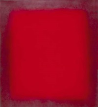 red 5 - frame painting by michael fütterer