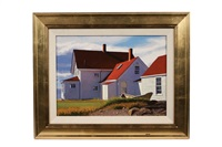 lightkeeper's house, monhegan by james wolford