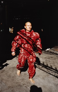 my new york by zhang huan