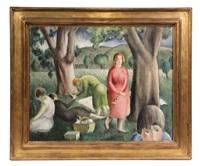 picnic by carl gustaf simon nelson