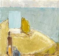 figure in landscape by johannes hofmeister