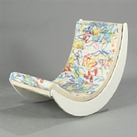 relaxer ii rocking chair by verner panton