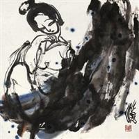 仕女图 by liu han