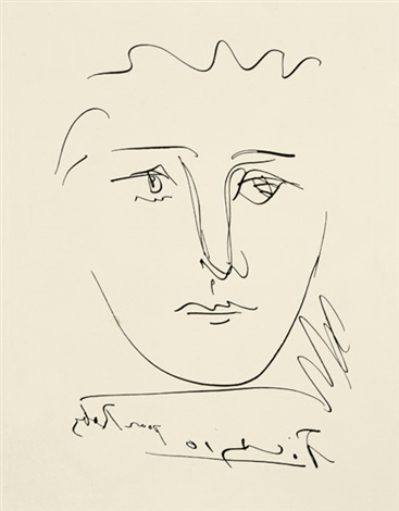 LAge de Soleil Pour Roby. Frauenkopf by Pablo Picasso on artnet