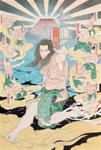 shoot q taro and ten braves by akira yamaguchi