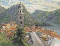 vy med kyrktorn by vassilij filippovich levi
