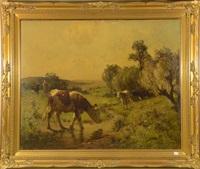 vaches by aymar (aimard alexandre) pezant