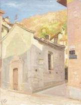 italiensk småstad by vassilij filippovich levi