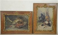 natures mortes (2 works) by henry schouten