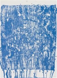 ohne titel (aus: papierski portfolio; sf-351) by sam francis