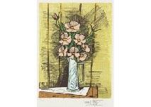 Camelias et roses by Bernard Buffet on artnet