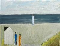 figures by the ocean by johannes hofmeister