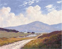the road from inveroran, scotland by william douglas macleod