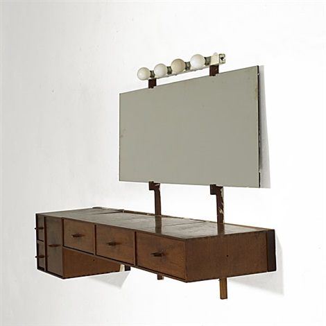 wall mounting consolevanity by philip cortelyou johnson