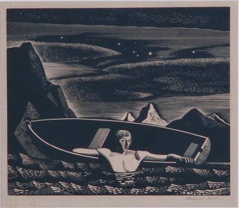 deep water by rockwell kent