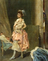 the dressing room by maurice poirson