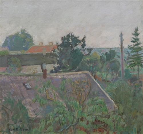 utsikt, öland by axel nilsson