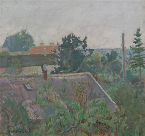 utsikt öland by axel nilsson