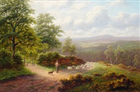 view near pannal, harrogate by everett w. mellor