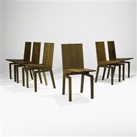 corbett chairs (set of 6) by khouri guzman bunce