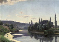 a sunny afternoon on the river by eugene h. frey