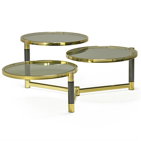 Pleasing Tiered Coffee Table By Karl Springer On Artnet Ocoug Best Dining Table And Chair Ideas Images Ocougorg