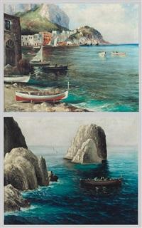 capri (+ faraglioni di capri; 2 works) by michele federico