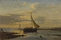 fischerboote by cornelius gurlitt