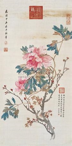 花卉 flower by empress dowager cixi