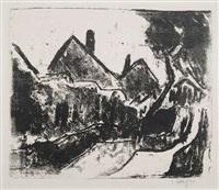 sommerlandschaft (dangast i. old.) by karl schmidt-rottluff