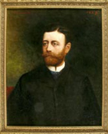herrenportrait by léon joseph florentin bonnat