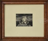 the oarsman by rockwell kent