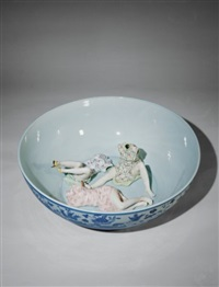 coloured ceramic series by liu jianhua