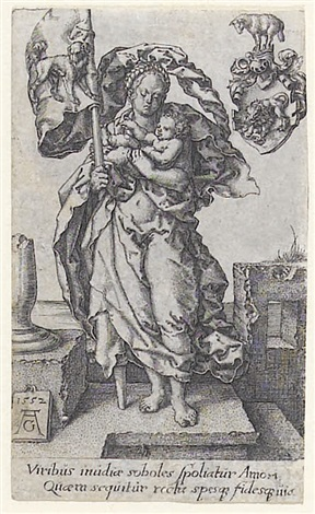 das mitleid from the virtues by heinrich aldegrever