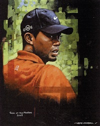 tiger woods by craig campbell