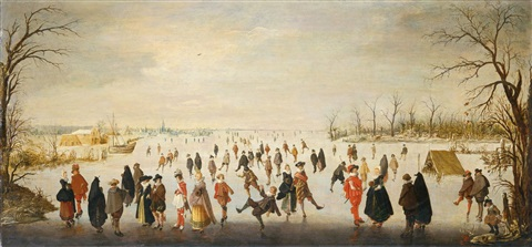eisvergnügen by hendrick avercamp