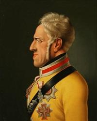portrait of frederik vi of denmark by niels moe