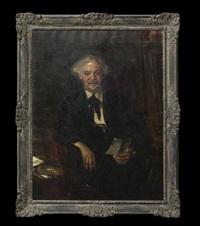 portrait of judge dan powell by wayman adams