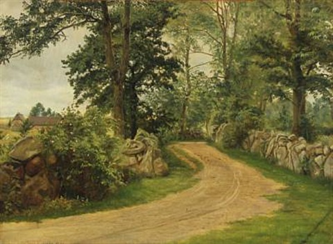 road by christian peder mørch zacho