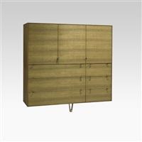 saxton wall-mounting cabinet by khouri guzman bunce