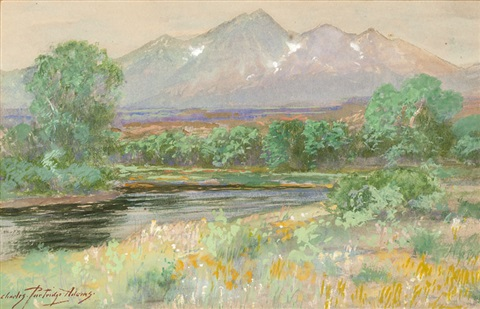 in the arkansas valley vicinity of salida colo by charles partridge adams