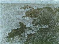 paysage maritime by claude monet